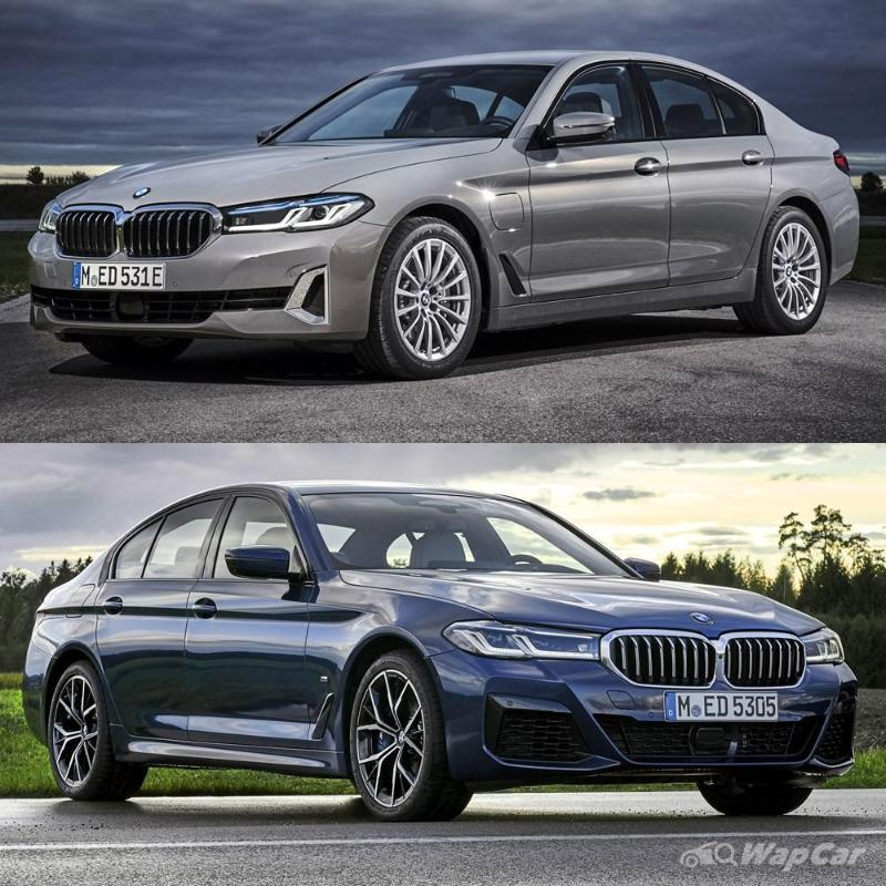 A closer look at the 2020 G30 BMW 5 Series facelift - 530e looking classy! 02