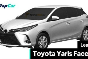 Sedan Toyota Yaris 2021 bakal terima facelift, imej rendered keluar