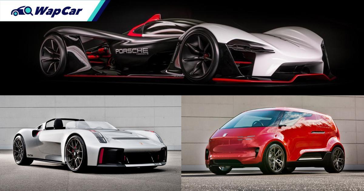 From Hot Wheels-inspired hypercars to a modern VW Bus – The gems of Porsche Unseen 01