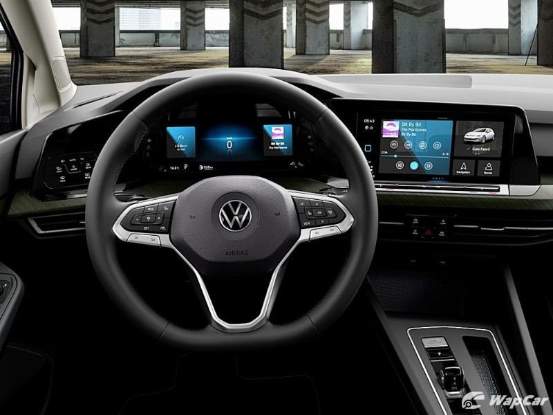 2020 Volkswagen Golf dashboard