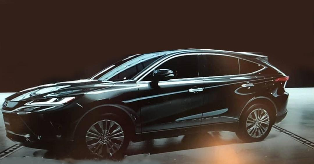 Leaked: All-new 2021 Toyota Harrier unmasked 01
