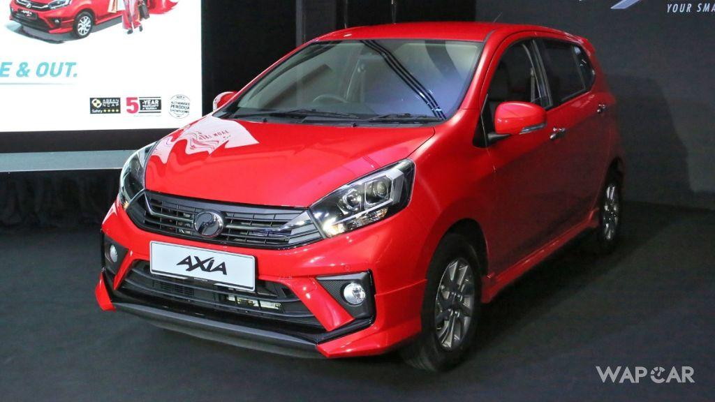 The New Perodua Axia 2019 facelift, so what's new? 01