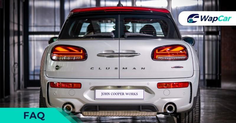 MINI John Cooper Works Clubman FAQ