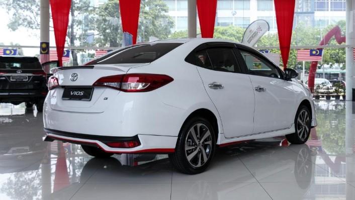 2019 Toyota Vios 1.5G Exterior 003