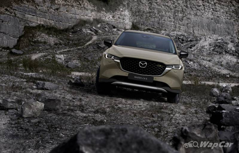New 2022 Mazda CX-5 facelift debuts with revised styling and better suspension 02