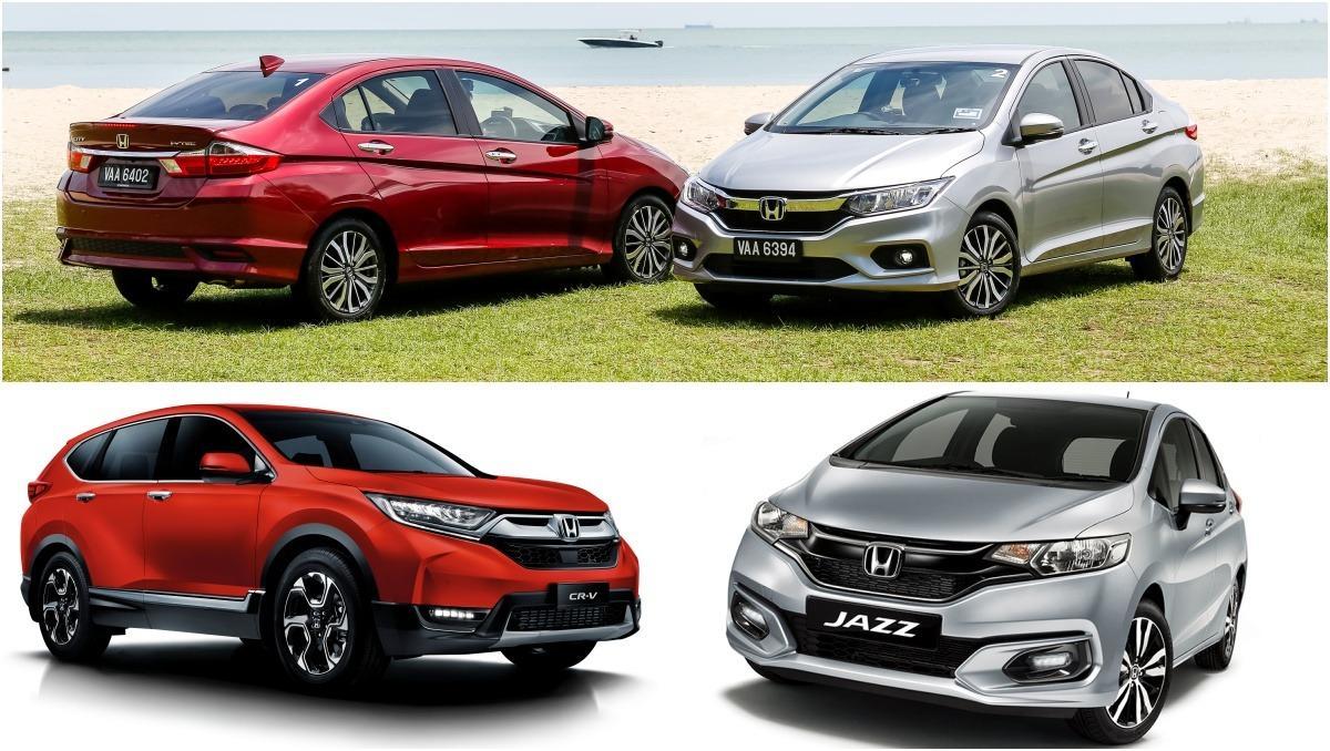Price up for Honda City, Jazz, CR-V - Jazz now from RM 75k, City RM 78k, CR-V RM 151k 01