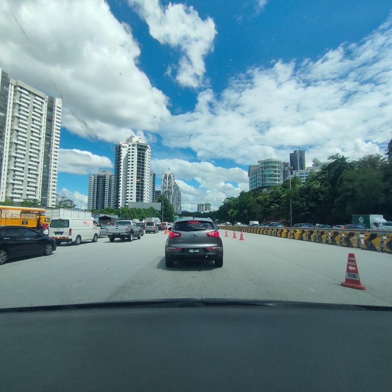 KL PDRM is holding a Best Roadblock Award! Jalan Duta roadblock wins Round 1 02