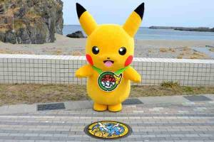Check out these Pokemon themed manholes in Japan! Gotta catch 'em all!