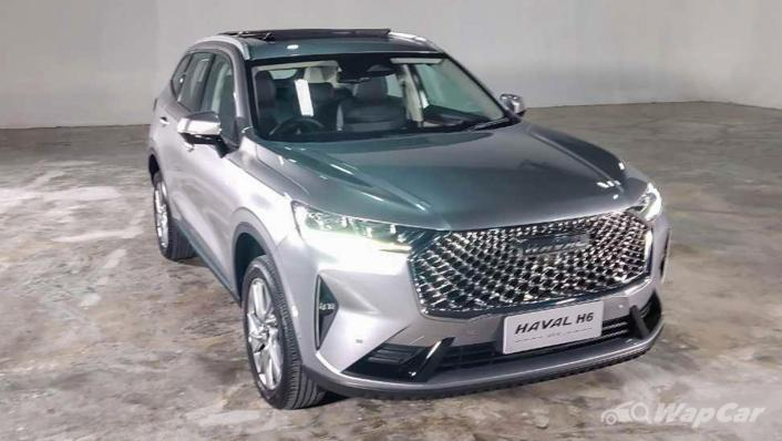 2021 Haval H6 Upcoming Version Exterior 001