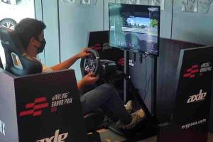 Want to e-race? Join Alex Yoong's Axle Sports simulator race competition