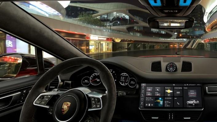 Porsche Cayenne Coupé (2019) Interior 009
