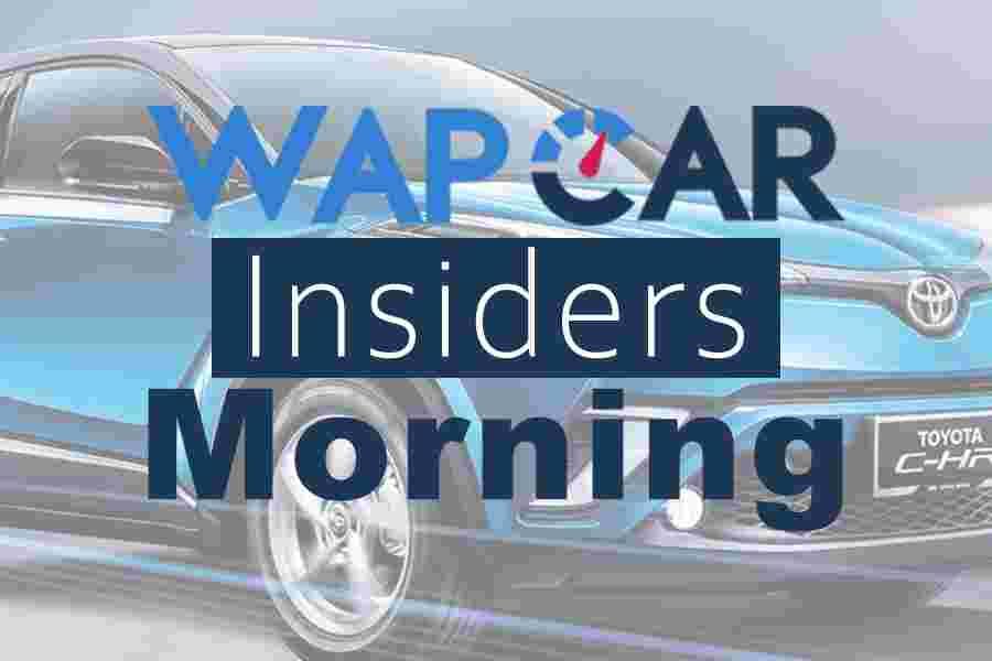 Wapcar Morning Insiders (Sep. 6, 2019)