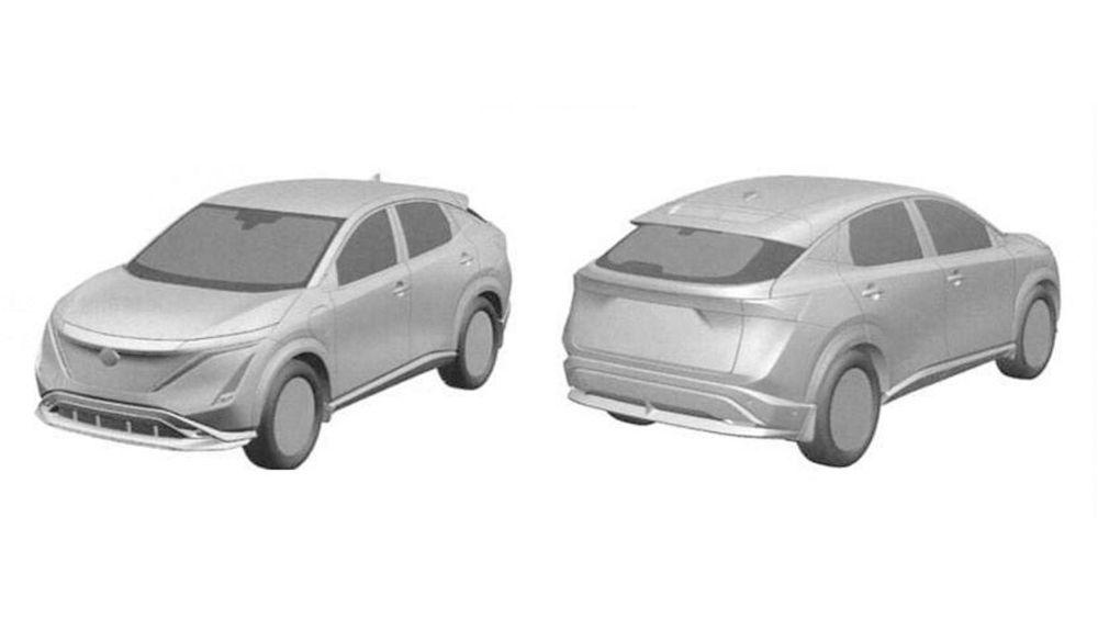 After X-Trail, a leaked 2021 Nissan Ariya patent surfaces - Murano replacement? 01