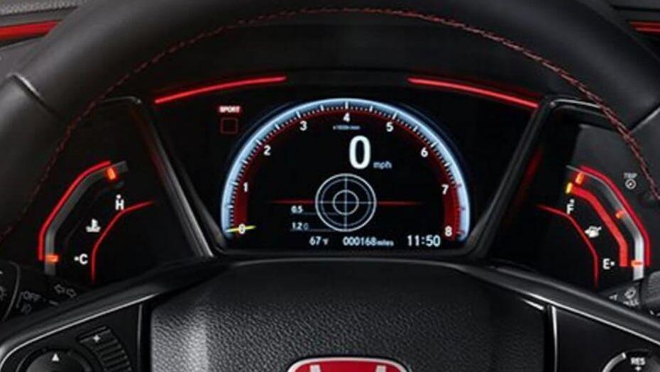 Honda Civic Type R (2018) Interior 002