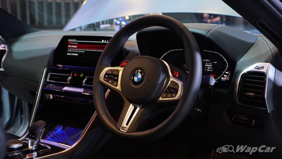 2020 BMW M850i xDrive Coupe Interior 001