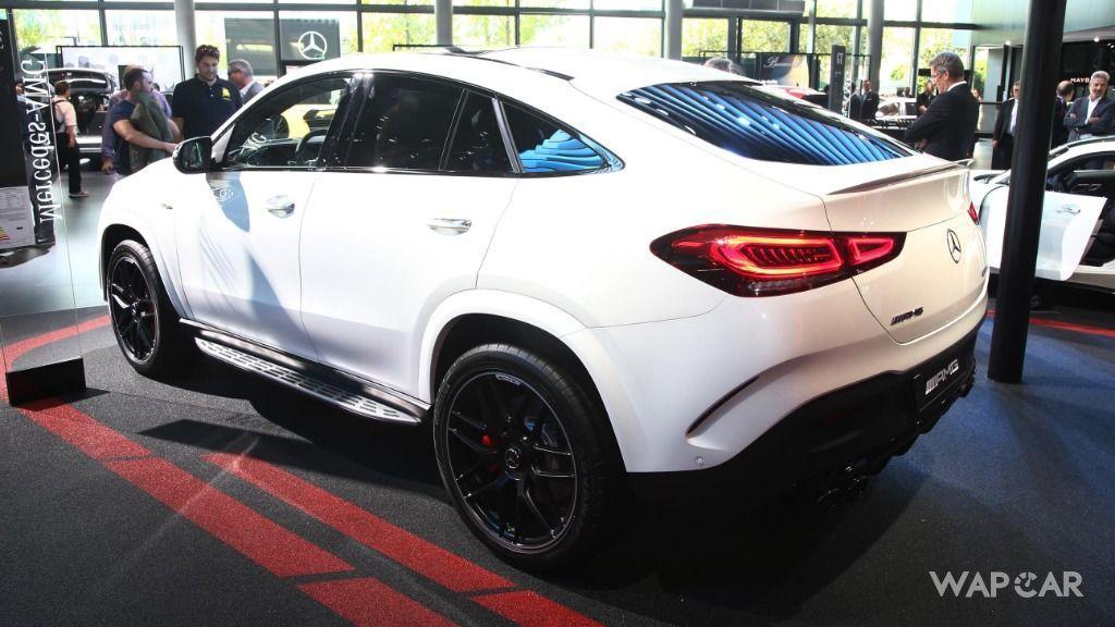Frankfurt 2019: All-new 2020 Mercedes-AMG GLE 53 Coupe makes world premiere 01