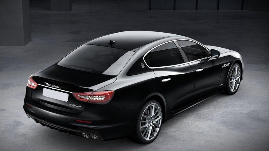 Maserati Quattroporte (2018) Exterior 005