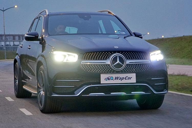 Ratings: 2021 Mercedes-Benz GLE 450 AMG Line - When you must show who's boss