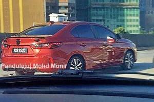 Intipan: Honda City 2020 serba baharu dilihat di Malaysia, bakal dilancarkan?
