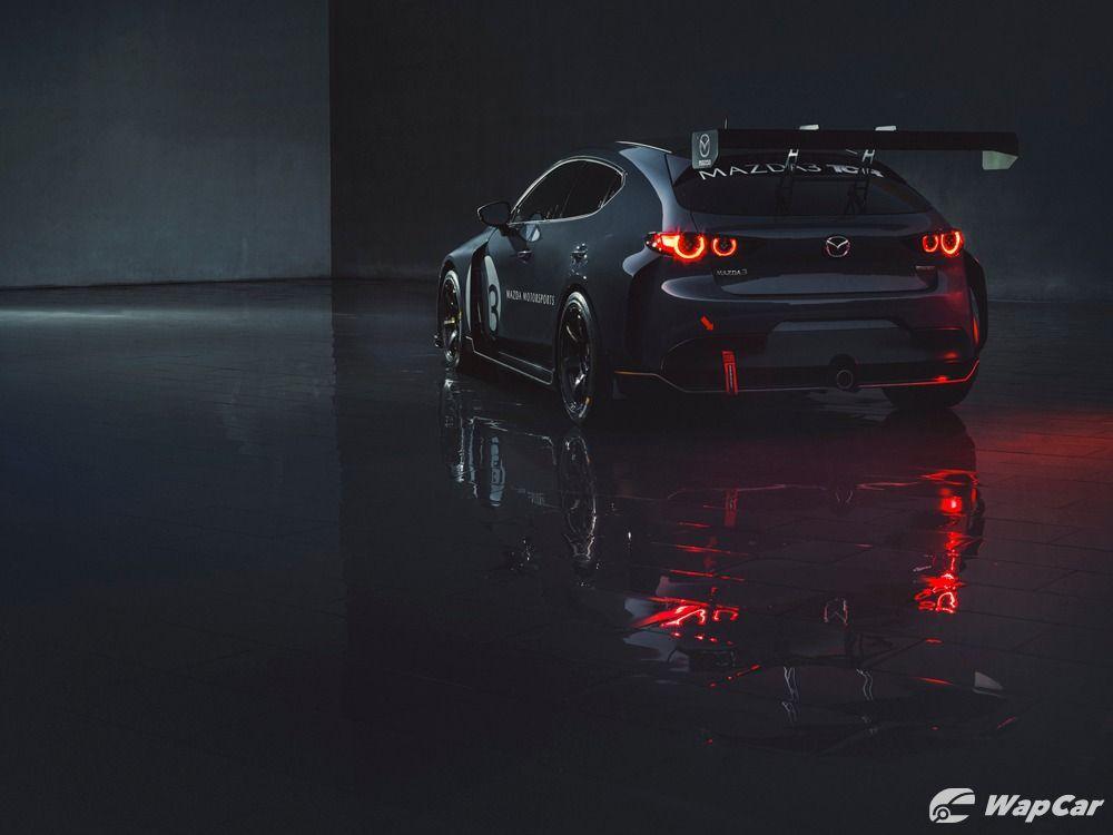 Mazda 3 TCR rear