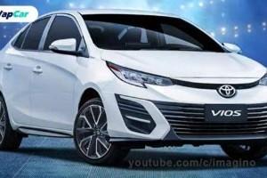 Render: Toyota Vios nampak macam 'baby Camry'