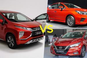 Mitsubishi Xpander 2020 vs sedan segmen B baru. Harga lebih kurang, dapat 7 tempat duduk. Bagus ke?