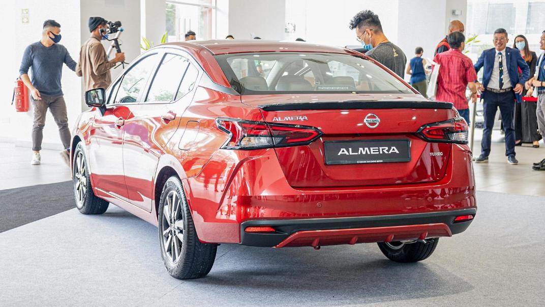 2020 Nissan Almera 1.0L VLT Exterior 005