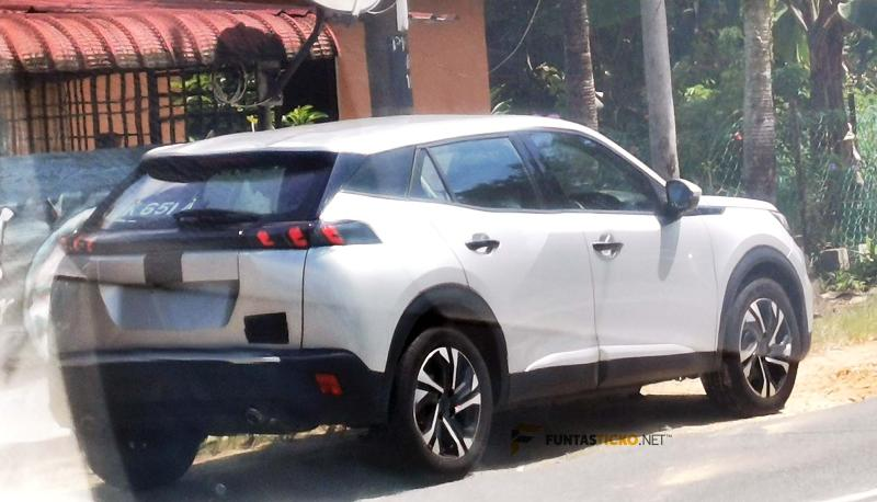 All-new 2021 Peugeot 2008 spotted in Malaysia, will be BAASB's first launch next year 02