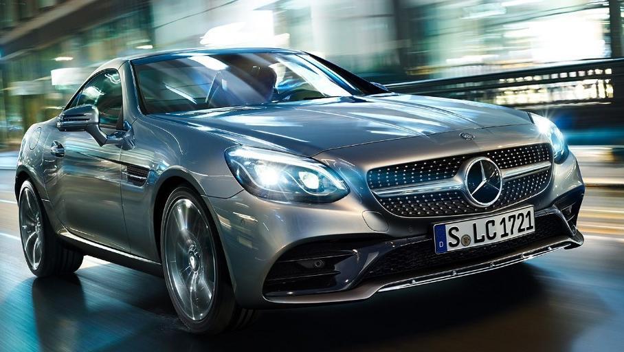 Mercedes-Benz SLC (2018) Exterior 004