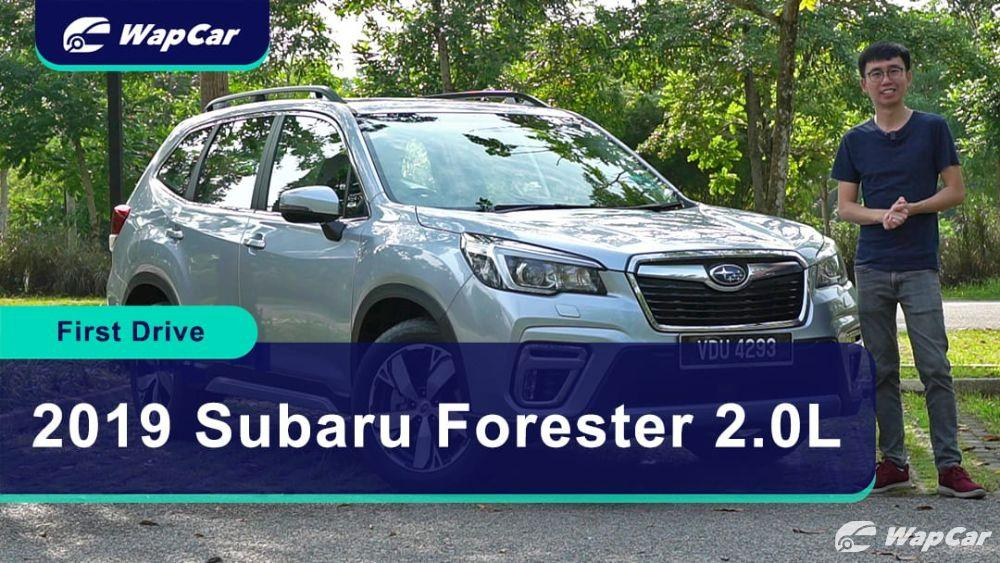 2019 Subaru Forester 2.0L Review