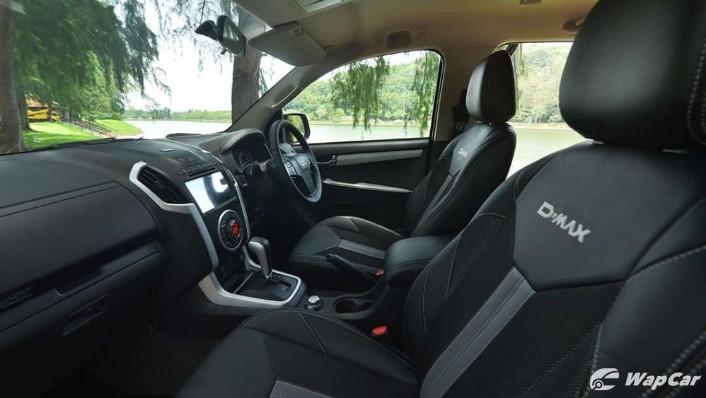 2019 Isuzu D-MAX 1.9L 4x4 AT-P Interior 003