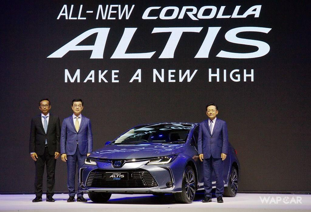 2019 Toyota Corolla Altis front