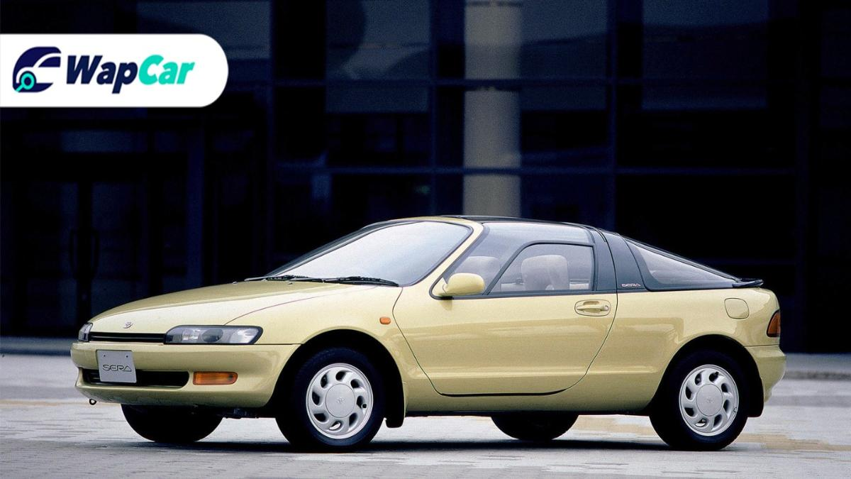 The Toyota Sera - The flyest-looking Toyota ever 01