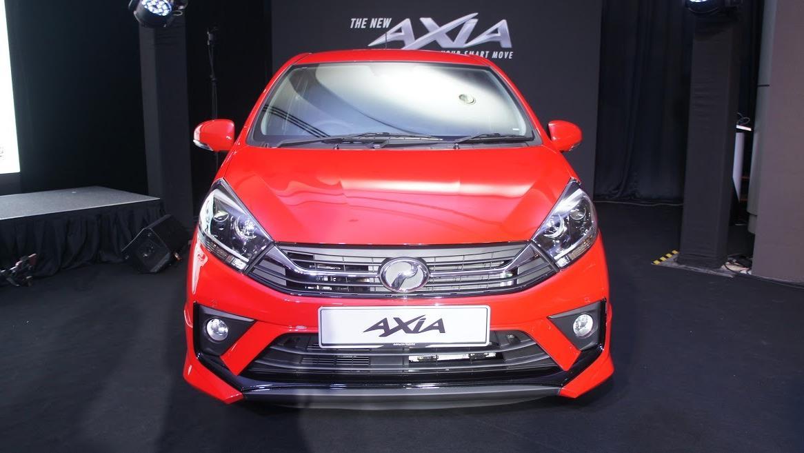 2019 Perodua Axia AV 1.0 AT Exterior 024