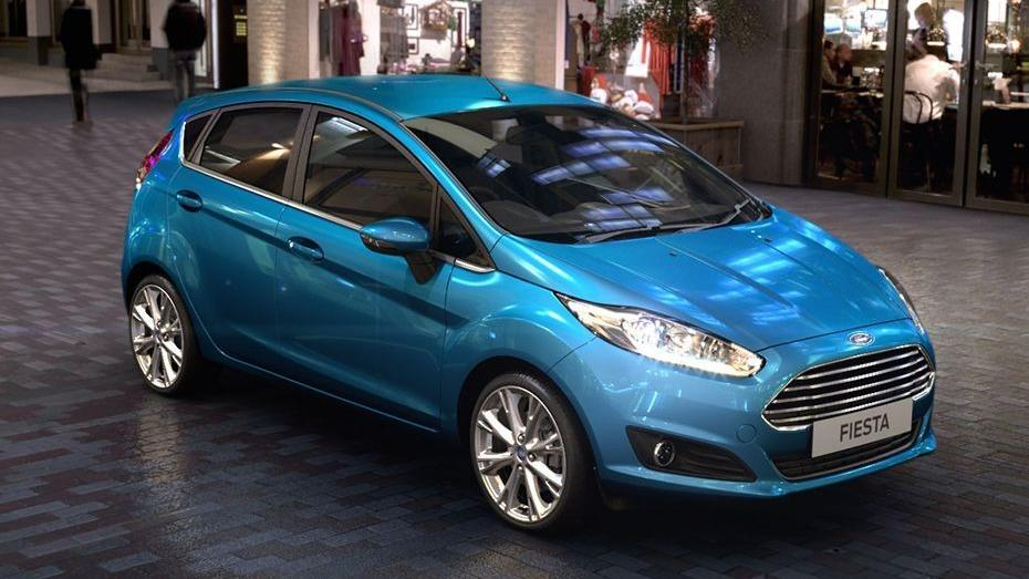 Ford Fiesta (2017) Exterior 003