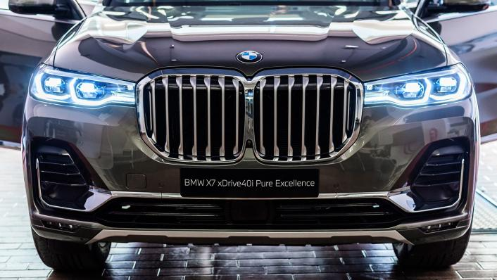 2021 BMW X7 xDrive40i Pure Excellence Exterior 005
