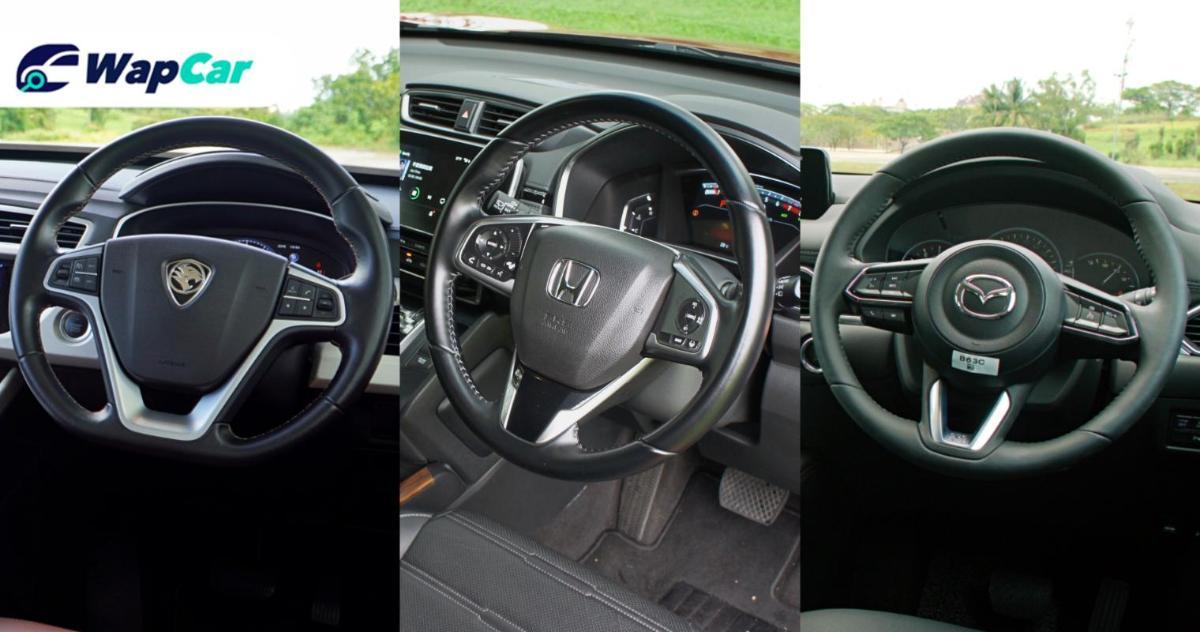 Ratings Comparison: Proton X70 vs Honda CR-V vs Mazda CX-5 - Space and practicality 01