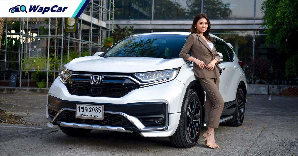 Honda CR-V – laku keras di Thailand pada Januari 2021, tapau SUV Mazda dan Subaru 01