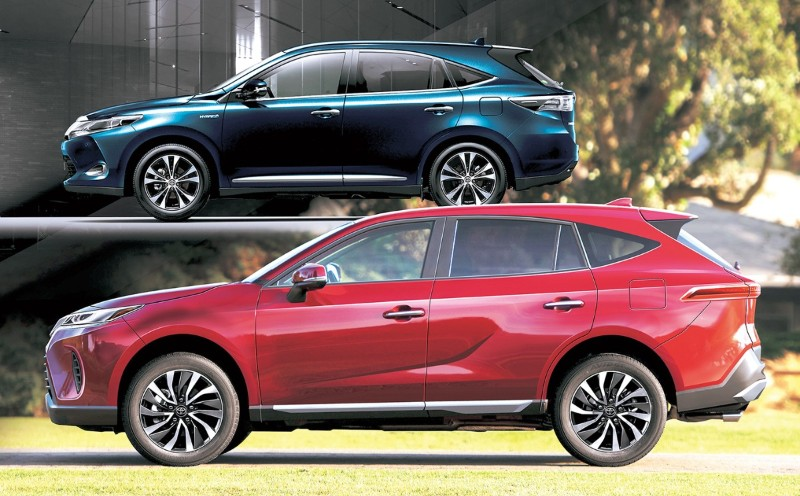 All-new Toyota Harrier rendered 02