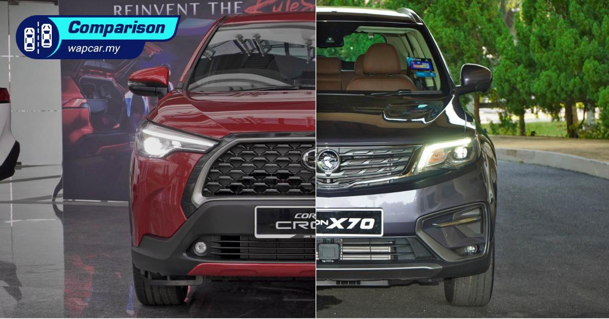 2021 Toyota Corolla Cross vs Proton X70 – Still want that X70? 01