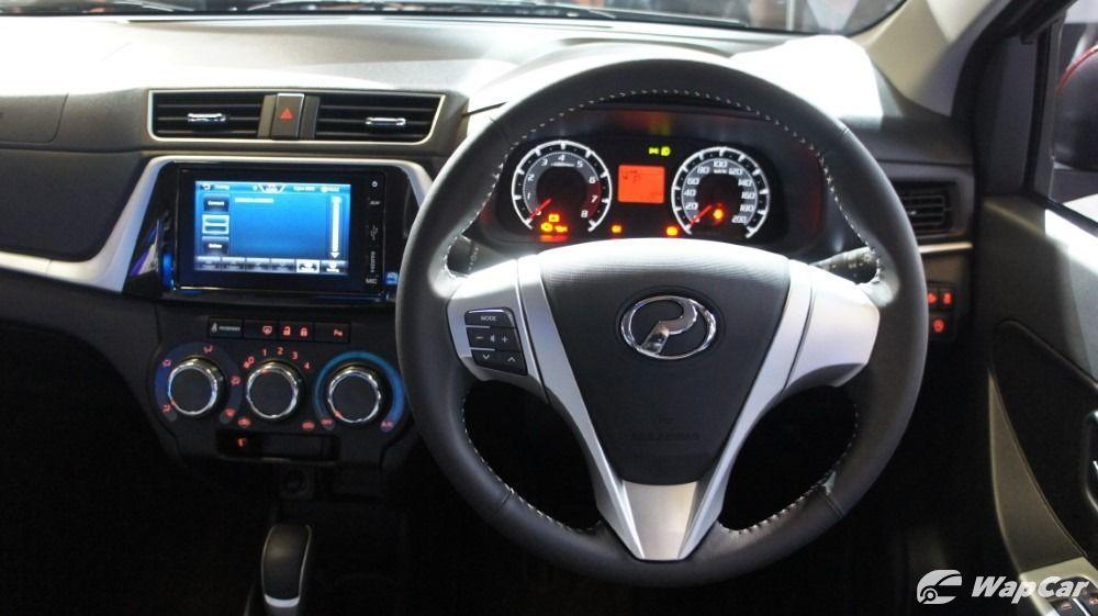 2020 Perodua Bezza steering wheel