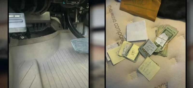 This kid found $5,000 worth of cash when cleaning family's new used car 02