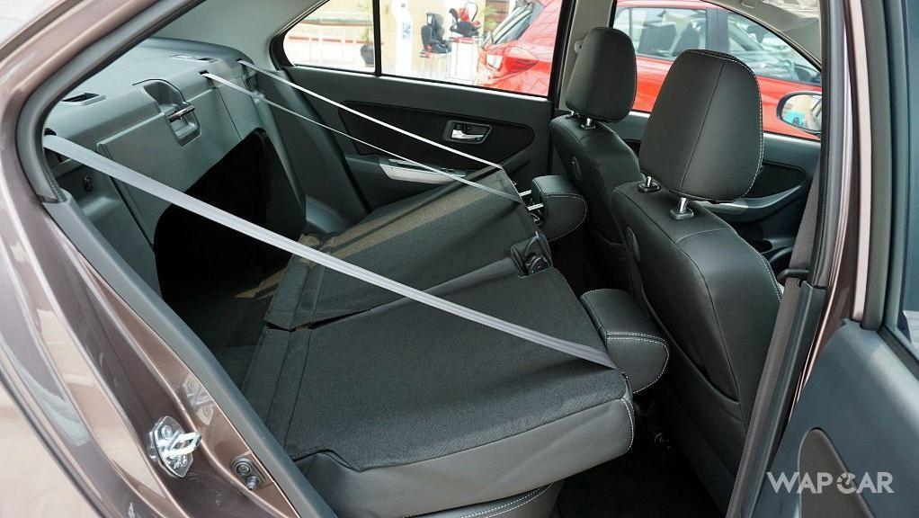 Perodua Bezza (2018) Interior 038