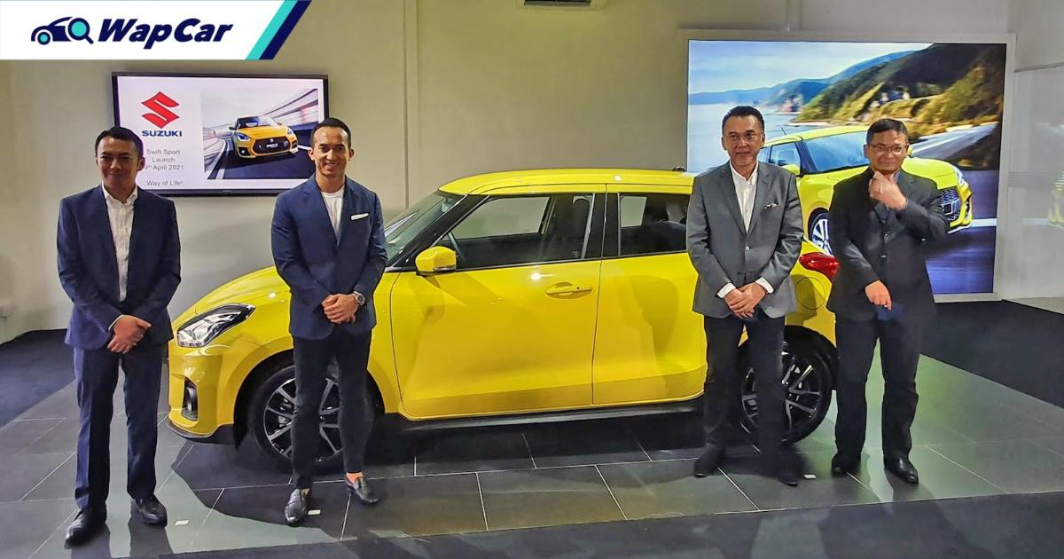 Why did Malaysia get the Suzuki Swift Sport ahead of Thailand, Indonesia, and Singapore? 01