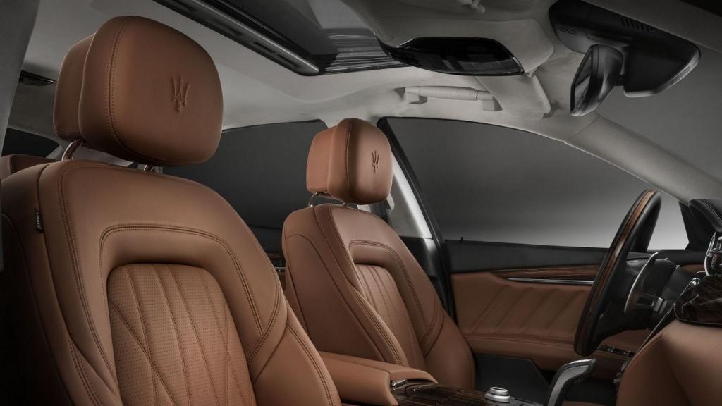 Maserati Quattroporte (2019) Interior 013