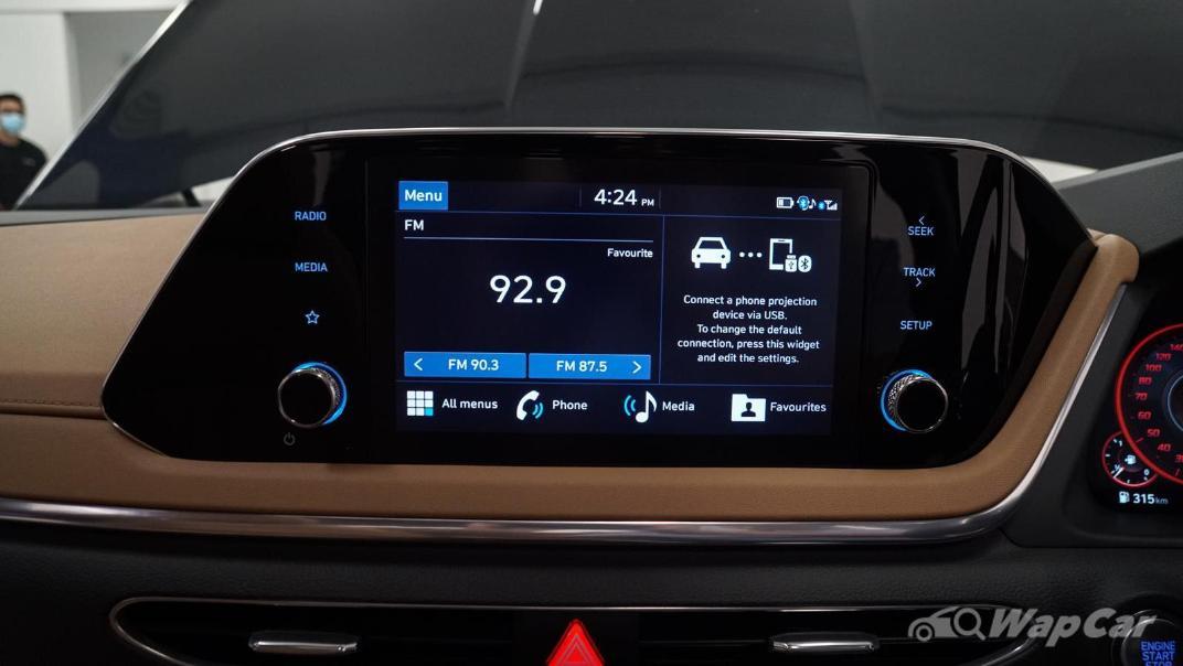 2020 Hyundai Sonata 2.5 Premium Interior 090