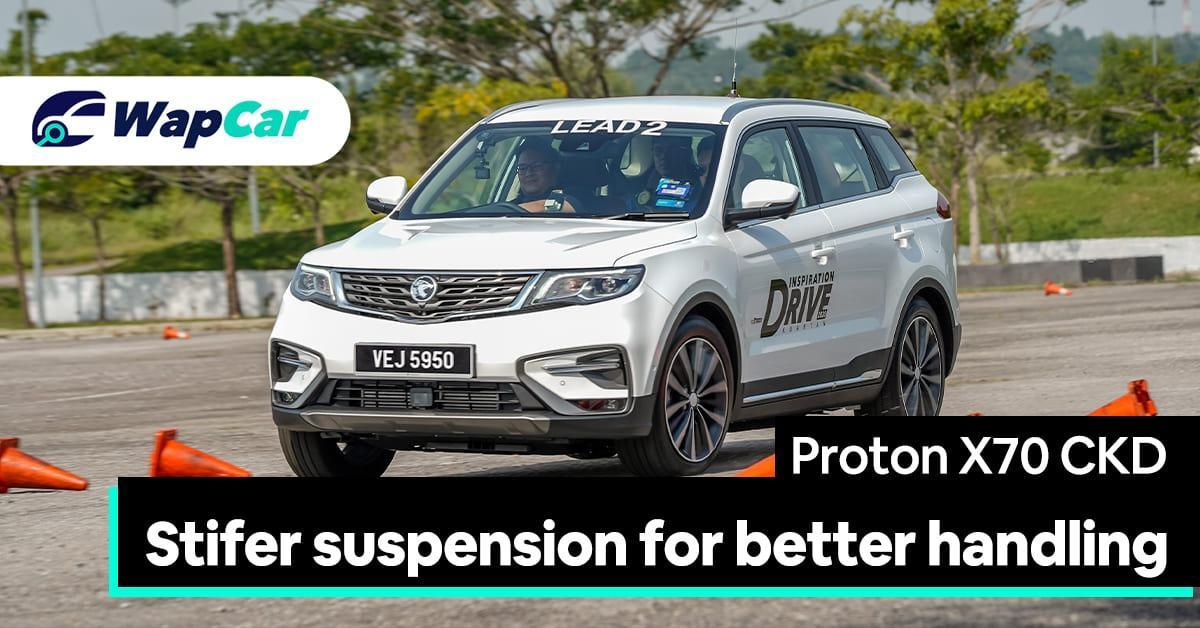 2020 Proton X70 CKD gets stiffer suspension for better ride & handling 01