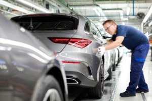 The Production Of All-New Mercedes-Benz CLA Starts At Kecskement, Hungary