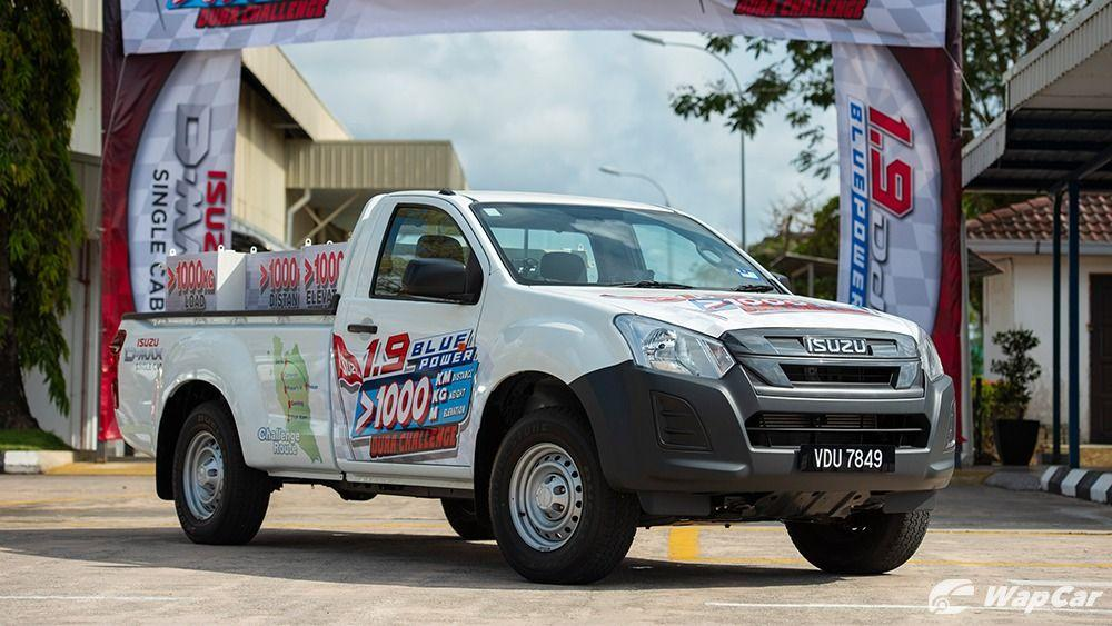 Isuzu D-Max's 1.9L Blue Power engine shows its prowess in a 1,000 km/1-tonne/1 tank fuel economy challenge 01