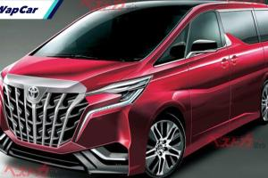 "Imej Toyota Alphard 2022 dilakar. Lebih ""Transformers"" kali ini?"